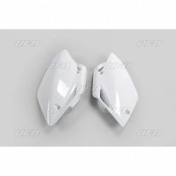 Sivunumero kilvet CRF150R 07-17 Valkoinen