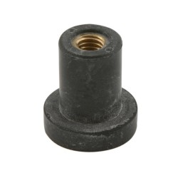 Kiinnikkeet D. 12,5mm M6, RUBBER CAP FOR FIXING